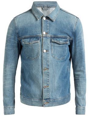 MAX RETRO BLUE DENIM JACKET
