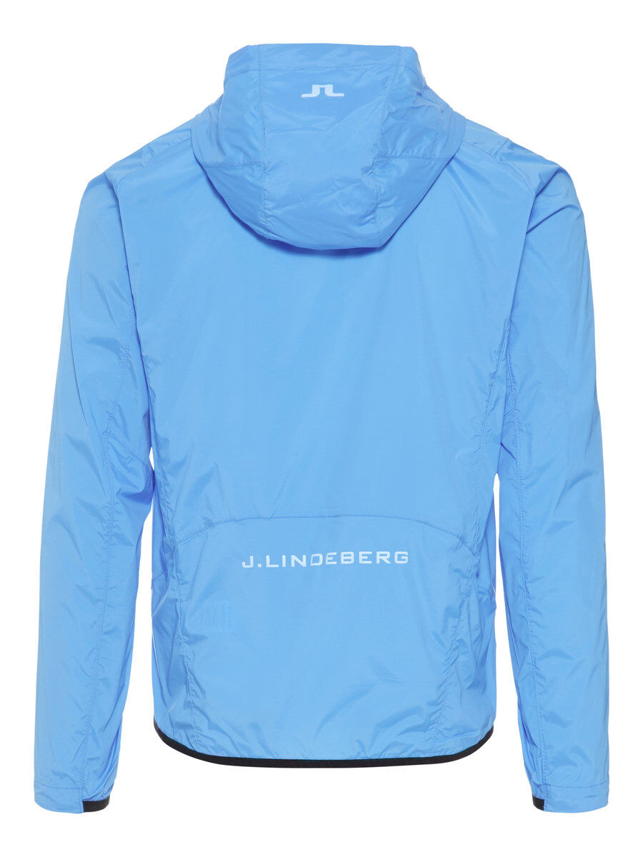 J Lindeberg Hooded Wind Str Windpro Jacket Men blue Mwa1o