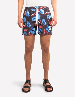 BANKS PATTERN SWIM SWIMSHORTS