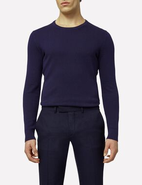 HANNES MICRO MOSS KNITTED PULLOVER
