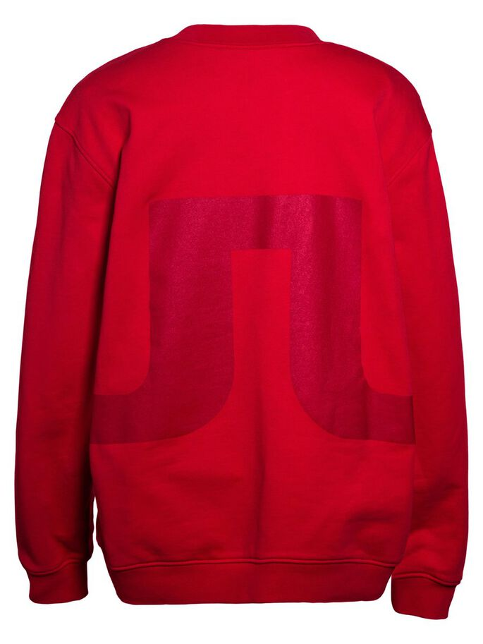 RUBINA JL SWEAT HOODIE, Red Deep, large