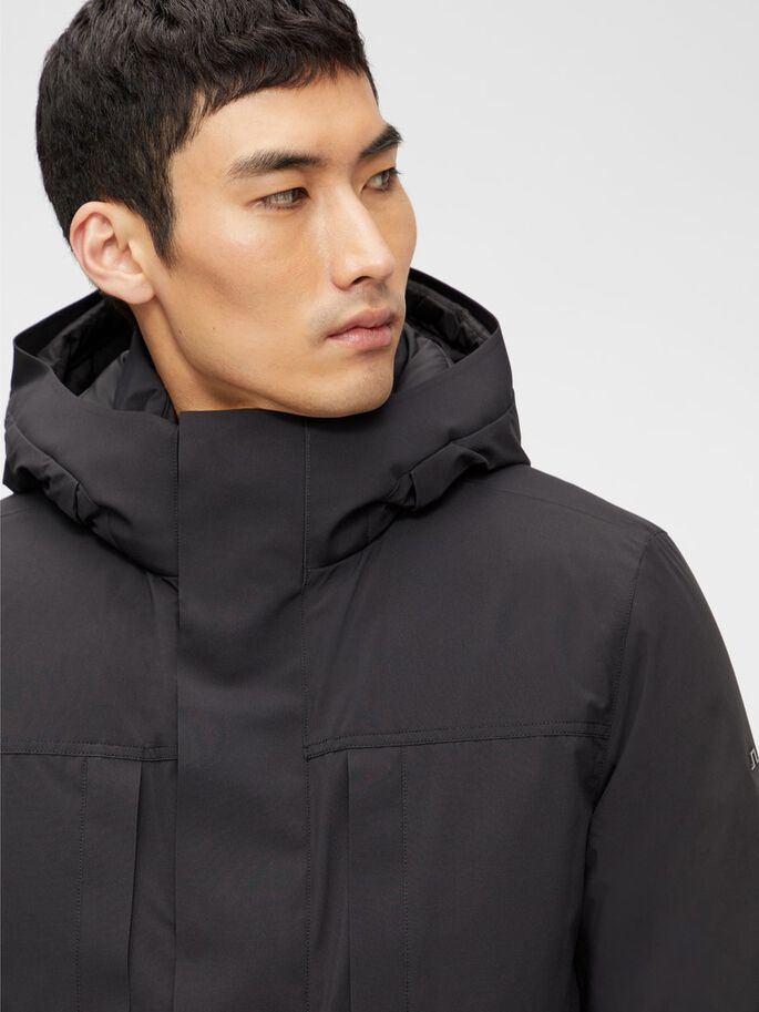 RUUD PARKA, Black, large