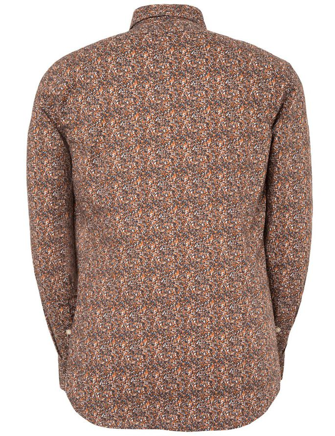 DANIEL SEASON STRETCH SHIRT, Dusty Rust, large