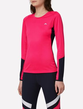 ACTIVE LONG-SLEEVED ELEMENTS JERSEY T-SHIRT