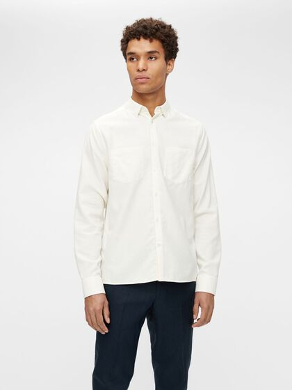 REFINED CREPE REGULAR FIT SHIRT