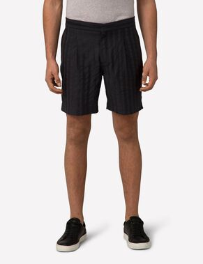CROPPER FLUID STRIPE SHORTS