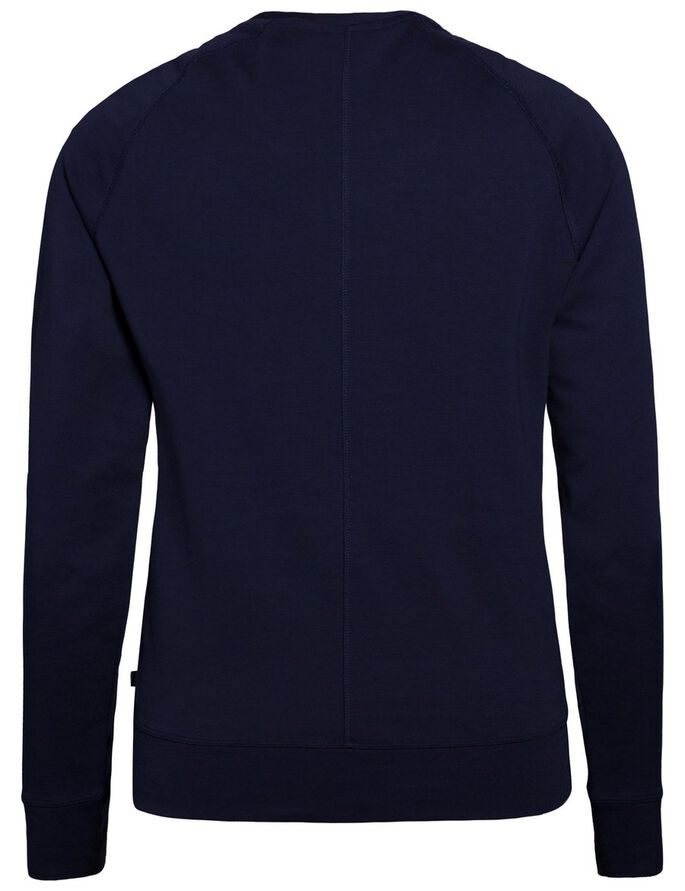 IMMO COTTON SWEATSHIRT, Navy, large