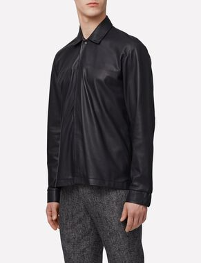 JASON LIGHT LEATHER SHIRT