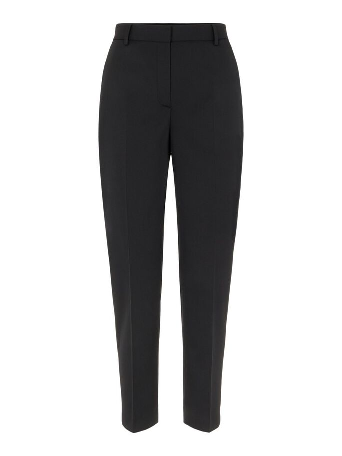 RYLIE TAPERED WOOL HOSE, Black, large
