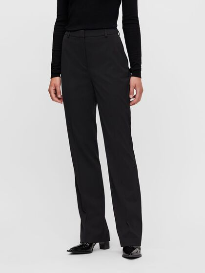 KORI WIDE WOOL TROUSERS