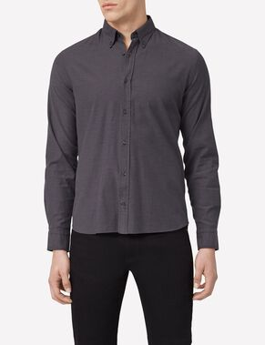 DANIEL BUTTON-DOWN STRETCH OXFORD CASUAL SHIRT