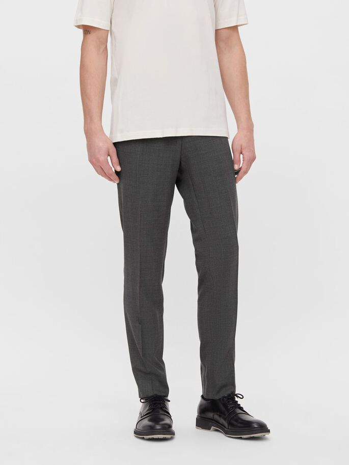 GRANT NATTE STRETCH TROUSERS, Granite, large