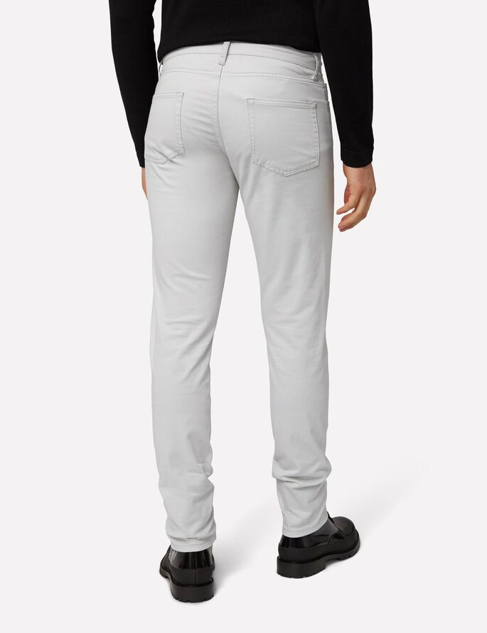 GRANT 5-PKT CONTRAST TWILL JEANS, Stone Grey, large