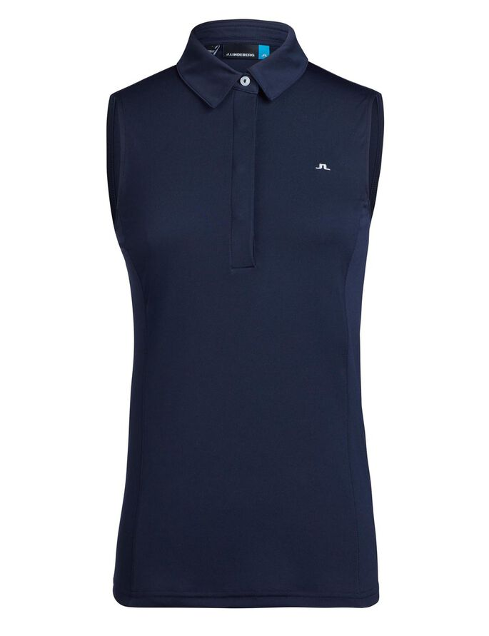 DENA TX JERSEY POLO SHIRT, JL Navy, large