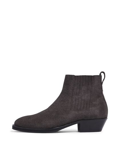 SUEDE WESTERN BOOTS