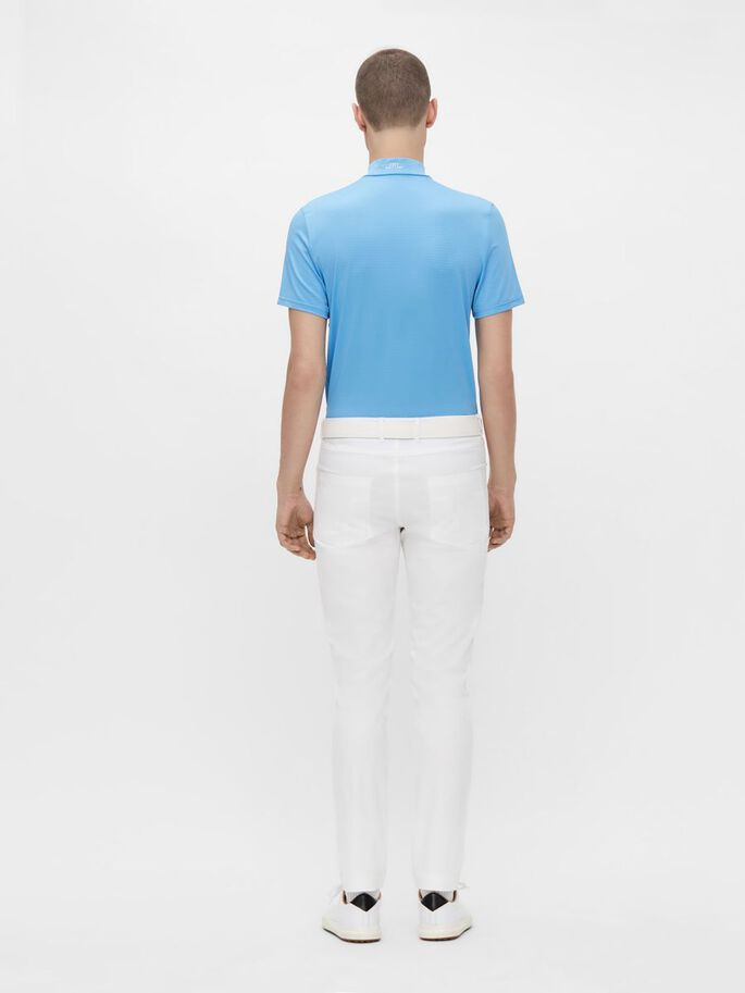 NILS REGULAR FIT POLO, Ocean Blue, large