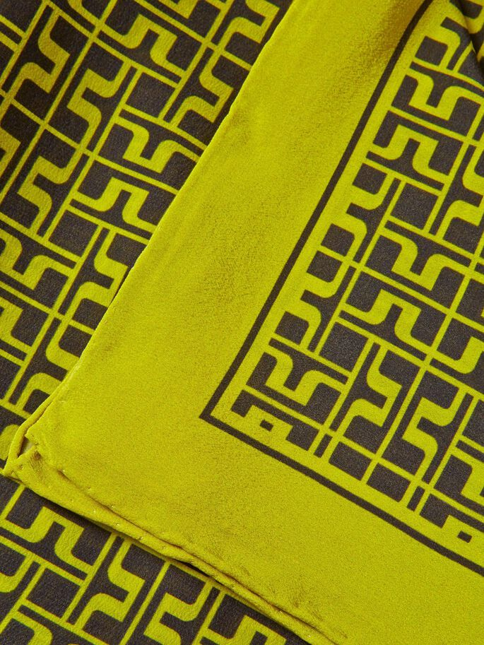 SQUARE JL PRINTED TØRKLÆDE, Lemon, large
