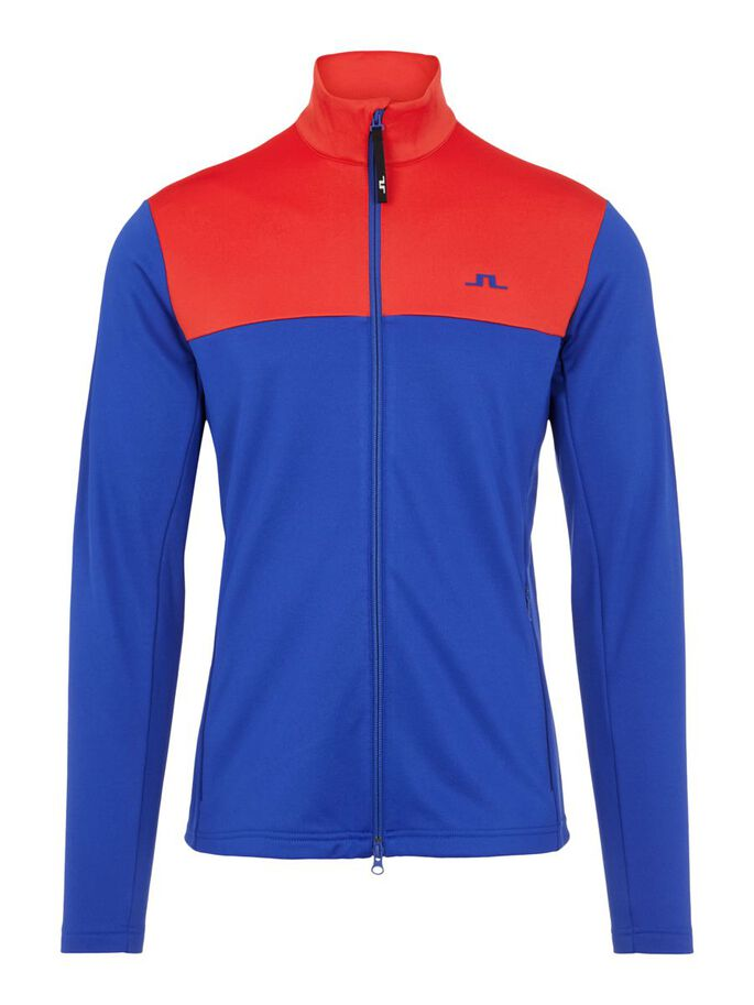BANKS MID LAYER JACKET, Racing Red, large