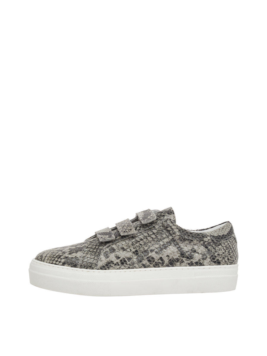 Buy Cheap Finishline With Mastercard Cheap Price J Lindeberg Velcro Snake Leather Sneakers Women Grey Free Shipping Latest Collections Manchester Great Sale swhaEf
