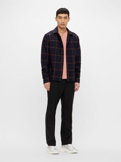 STRUCTURED OVERSHIRT