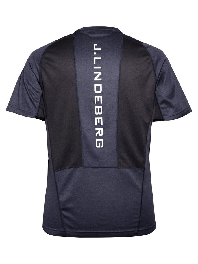 ACTIVE ELEMENTS JERSERY T-SHIRT, Navy melange, large