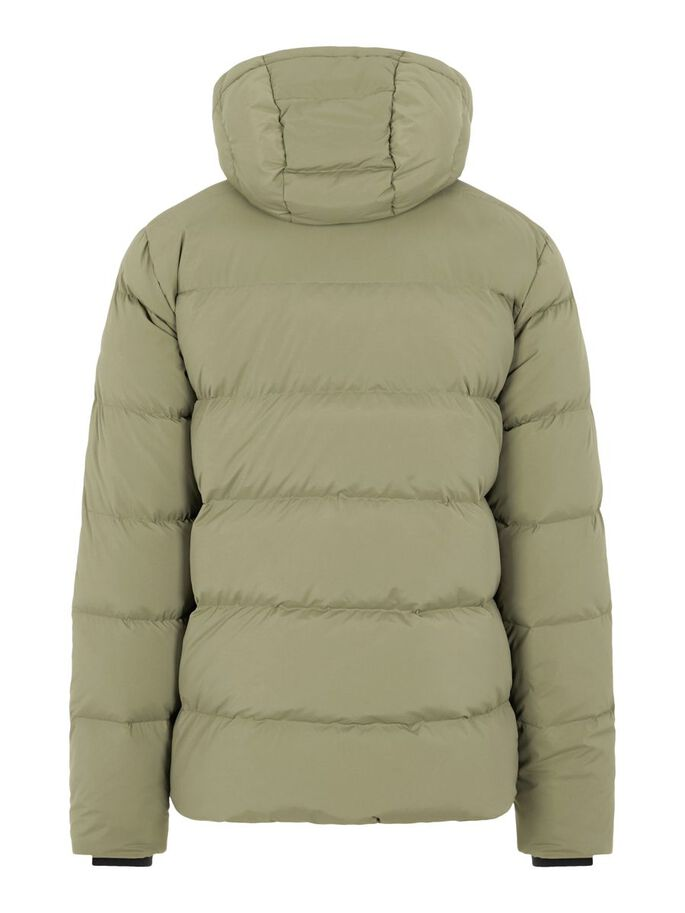 BARRELL STRETCH DOWN JACKET, Army Green, large