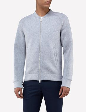 VERNON NEOPRENE BONDED SWEAT JACKET