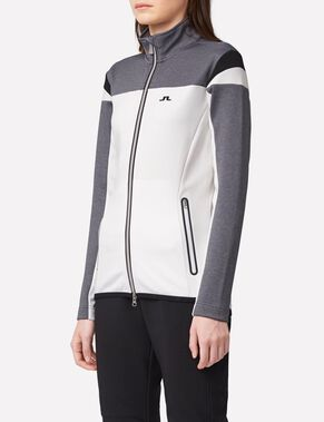 TANAGA BLOCKED TECH JERSEY SWEAT JACKET