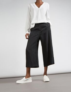 POPPY CUPRO TWILL TROUSERS