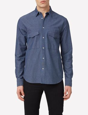 DAVID MOLINE DENIM SHIRT