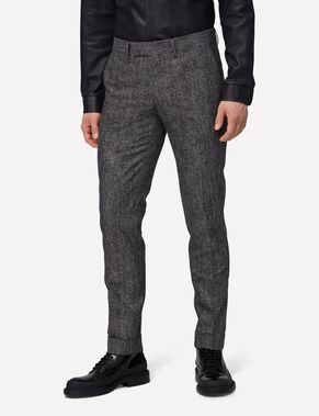 GRANT DIGI CHECK SUIT TROUSERS