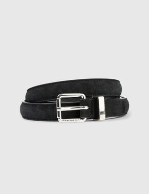 COW SUEDE BELT