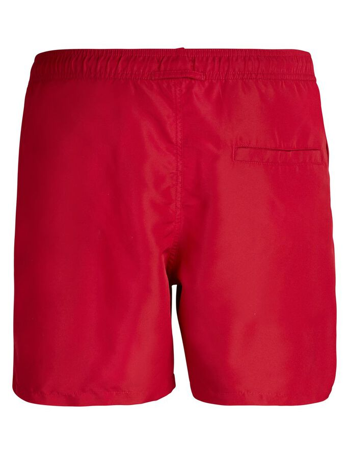 BANKS SOLID SWIM SWIMSHORTS, Chilli, large