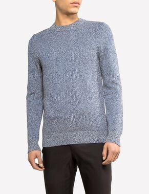 PATRIK TRIPPLE COLOR KNITTED PULLOVER