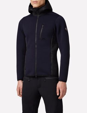 REGAL TECHNO JERSEY BLOUSON EN MOLLETON