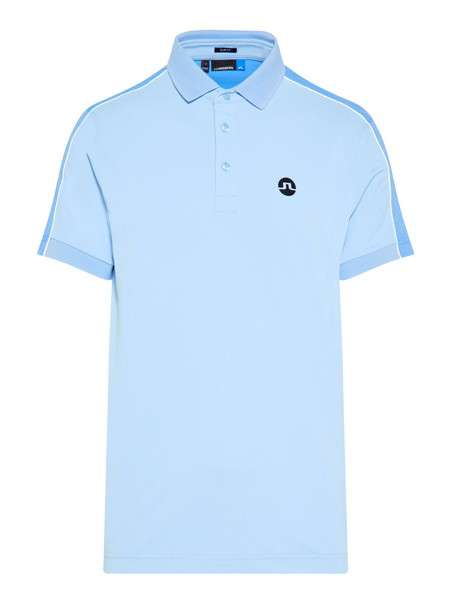 J Lindeberg Tane Slim Tx Torque Polo Shirt Men blue