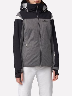SITKIN JL 2-LAYER GREY MEL SKI JACKET