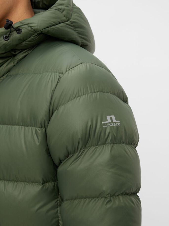 ROSS DOWN JACKE, Thyme Green, large