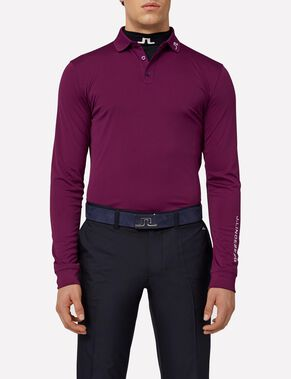 TOUR TECH LONG-SLEEVED SLIM TX JERSEY POLO SHIRT
