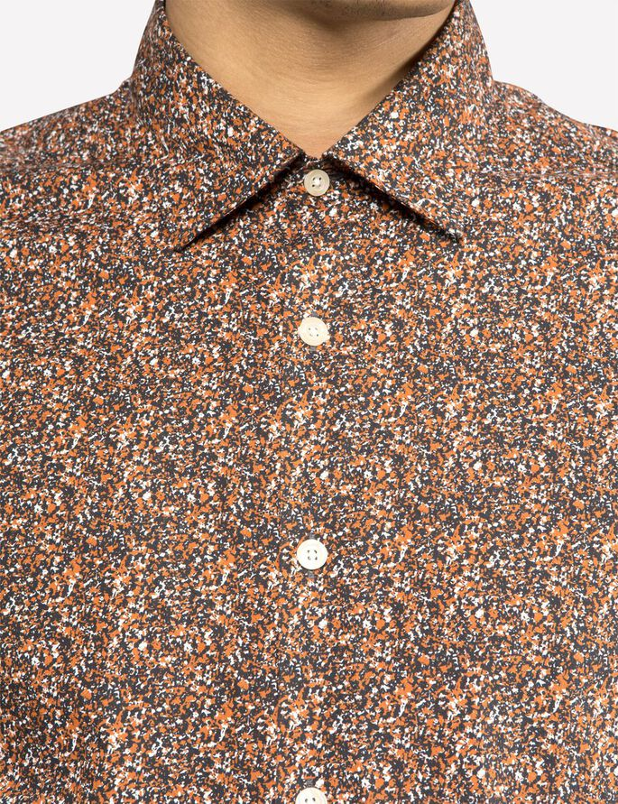 DANIEL SEASON STRETCH- HEMD, Dusty Rust, large