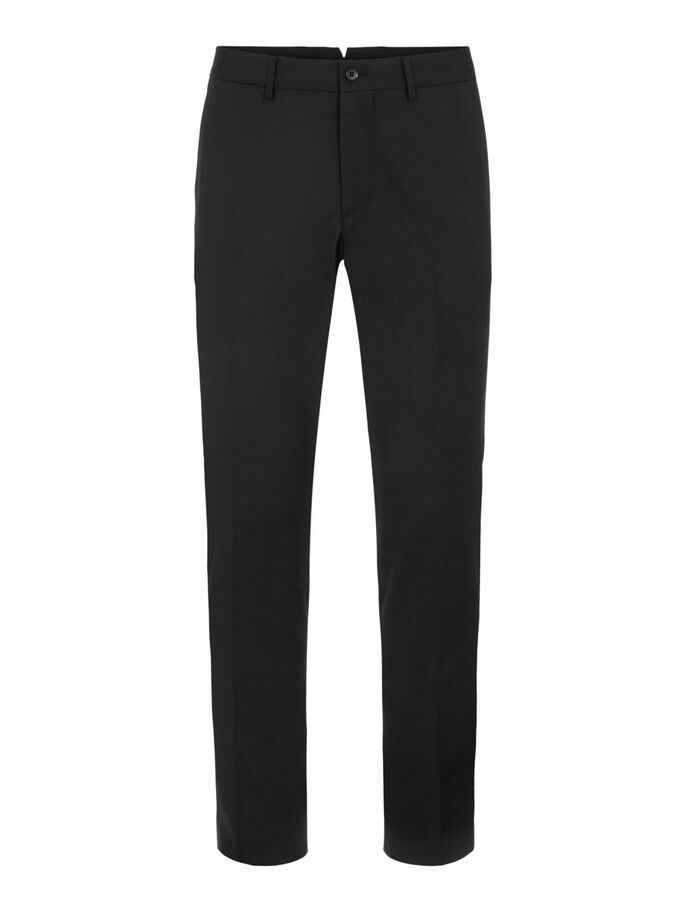 GRANT STRETCH TWILL BROEK, Black, large