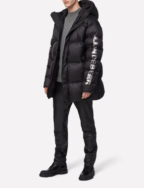 EXPO LOGO 77 SHINY POLY DOWN JACKET