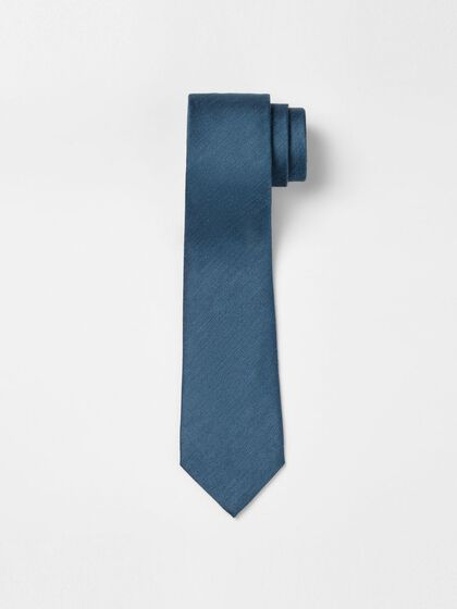 LALLE SHANTUNG TIE