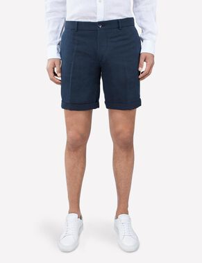 NATHAN COTTON LINEN SHORTS