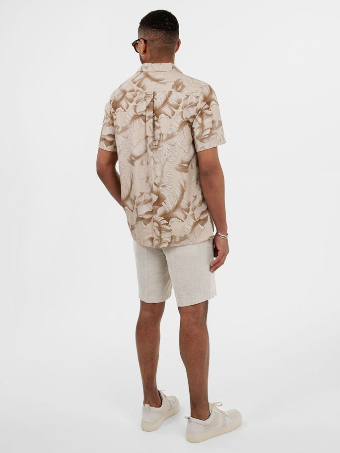 SEASONAL PRINT REGULAR FIT SHIRT, Summer Dunes, large