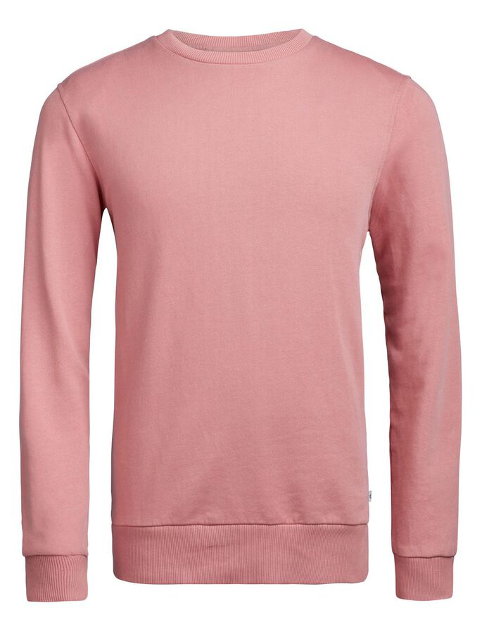 LEVI SUPIMA COTTON SWEATSHIRT, Warm Dust Pink, large