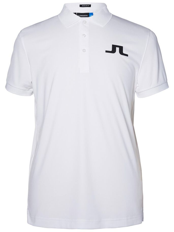 BIG BRIDGE REG TX JERSEY POLO SHIRT, White, large