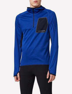 RUNNING ELEMENTS JERSEY SWEAT À CAPUCHE