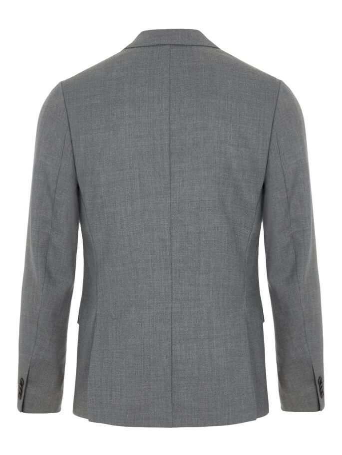 HOPPER HOPSACK BLAZER, Stone Grey, large