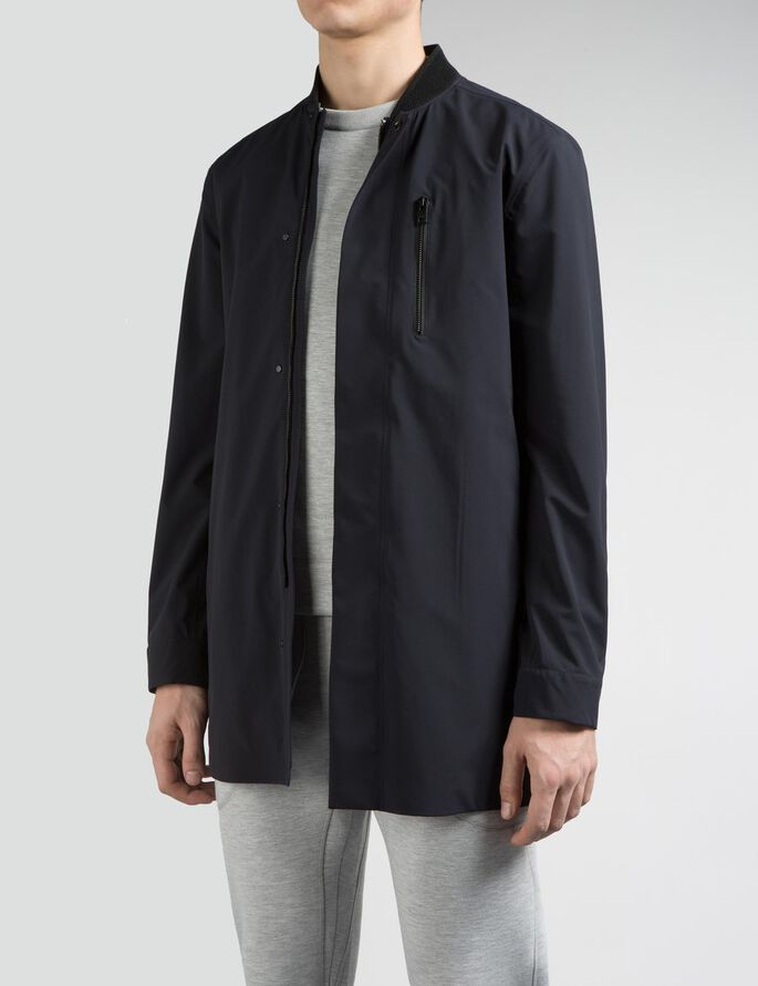 TOMMY 3L STRETCH COAT, Navy, large